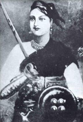 short biography of rani lakshmi bai in english