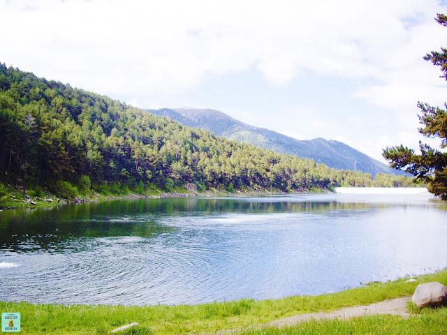 Estany d'Engolasters en Andorra