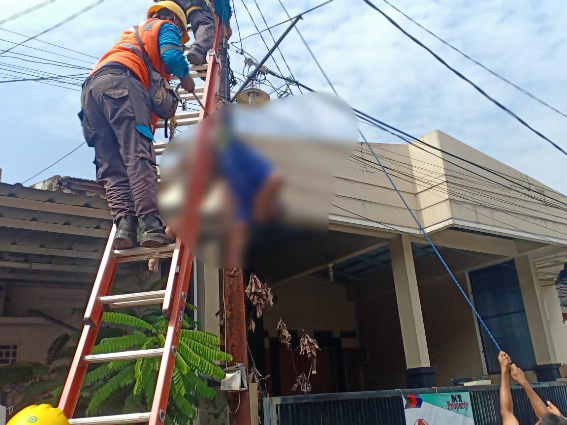Perbaiki Lampu PJU, Pria di Pondokgede Tewas Tersengat Listrik