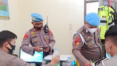 Propam Polres Toraja Utara Razia Puluhan Ponsel Personil Polres Toraja Utara Ada Apa