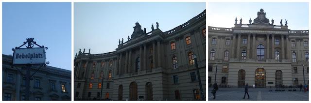 Atrações grátis em Berlim -  Bebelplatz
