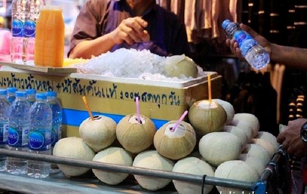 Amat thực dừa nướng
