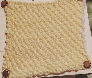Moss stitch overall
