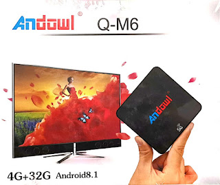 smart tv box andowl Q-M6