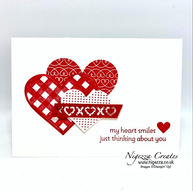 Lots Of Heart Clean & Simple Card