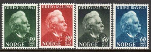 Norway 1943 Edvard Grieg