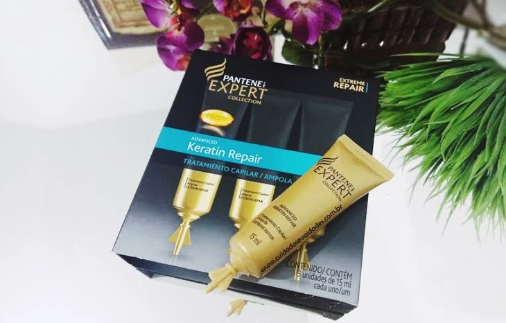 Ampola Pantene Advanced Keratin Repair
