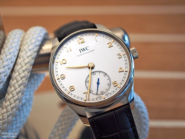 2020 marked the launch of several new Portugieser references including the new Portugieser Automatic 40 IW3583
