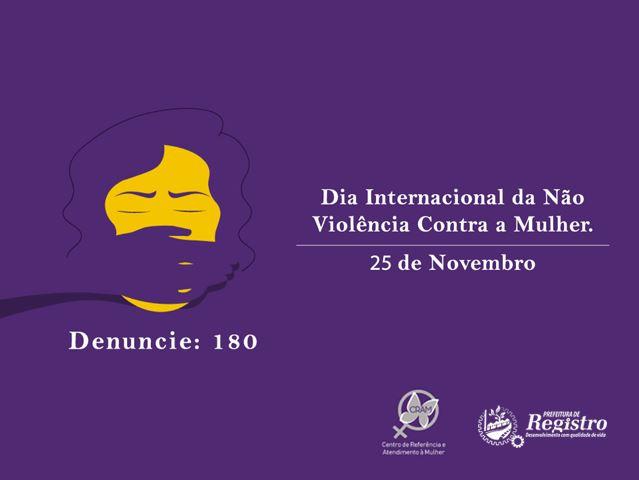 Dia Internacional pela Eliminação da Violência contra a Mulher
