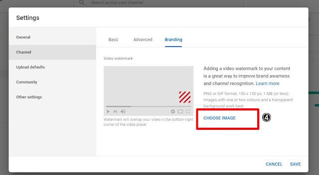 Cara Untuk Dapatkan Subscribers Letak Video Watermark | Panduan Youtube #1
