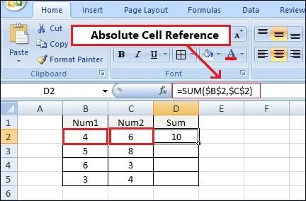 cell-reference-kya-hai-kaise-uses-kare