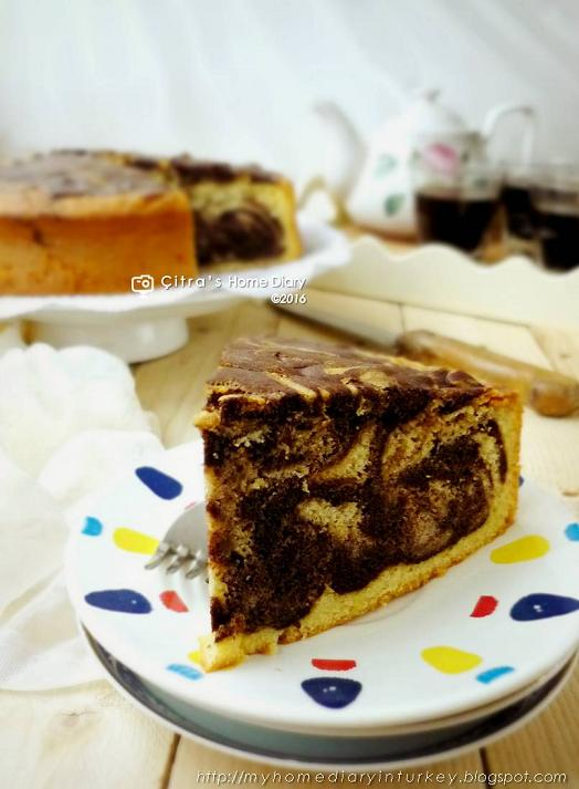 Citra S Home Diary Marble Butter Cake Recipe Resep Cake