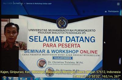 Magister Pendidikan IPS UMP Gelar Seminar dan Workshop Online