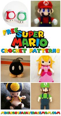 free super mario crochet patterns