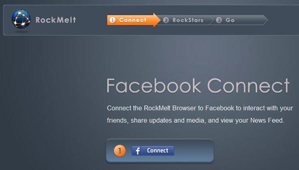 أول متصفح للفيس بوك RockMelt