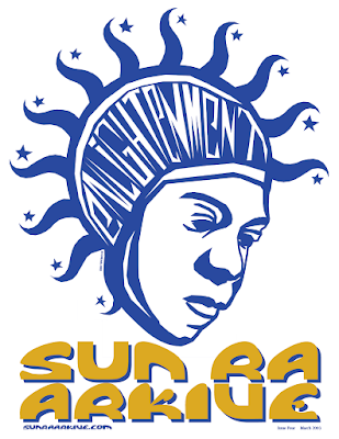 Sun Ra enlightenment illustration by Christopher Eddy