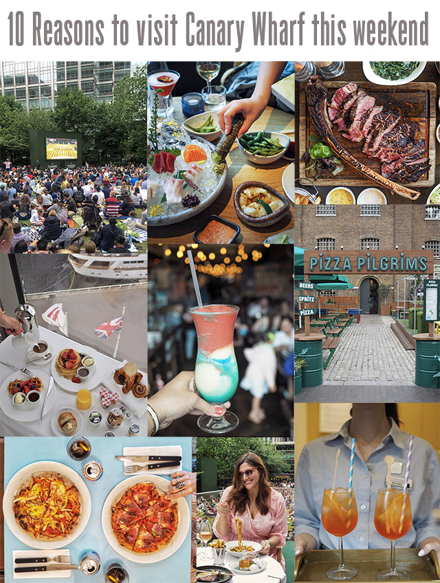 10 Reasons To Visit Canary Wharf This Weekend Fashion Foie