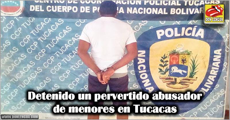 Detenido un pervertido abusador de menores en Tucacas