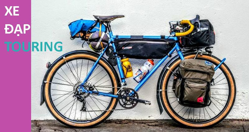 Xe đạp touring - xe đạp đường phố