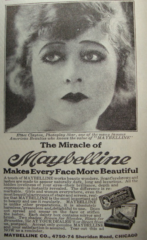 The Maybelline Story Maybelline And The Quot New Woman Quot In 1920