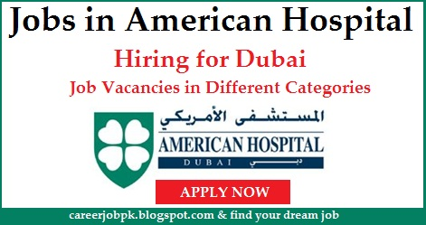 Jobs for Nurses in Best American Hospital Dubai