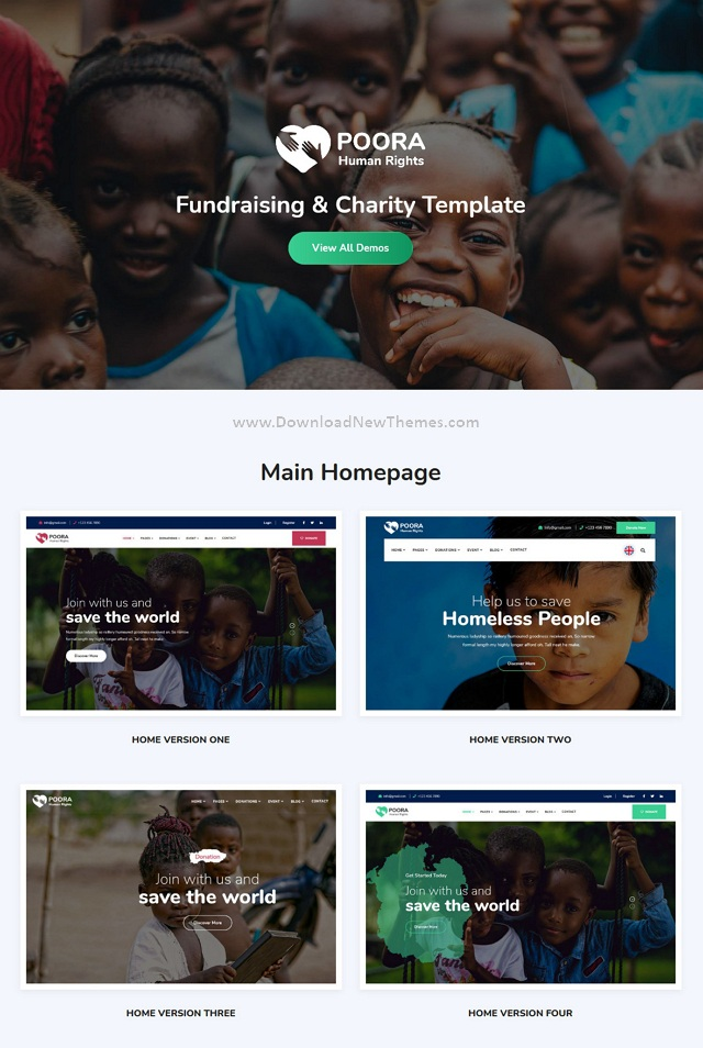 Fundraising and Charity Template