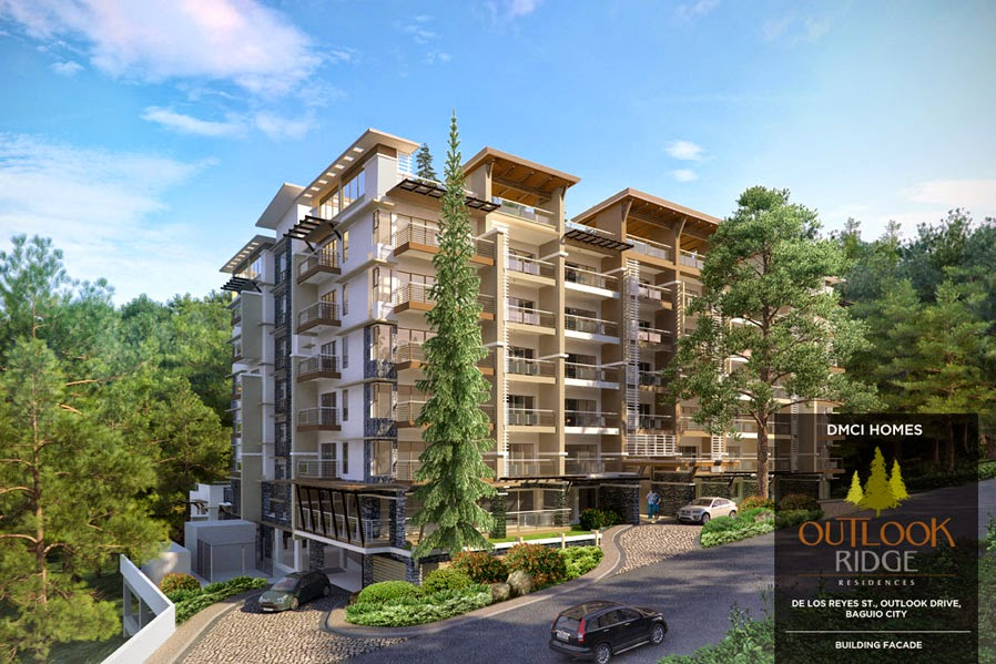 Outlook Ridge Residences Building Facade