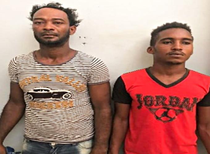 La  Policía apresa a dos hombres en Barahona por presuntamente robar en una residencia