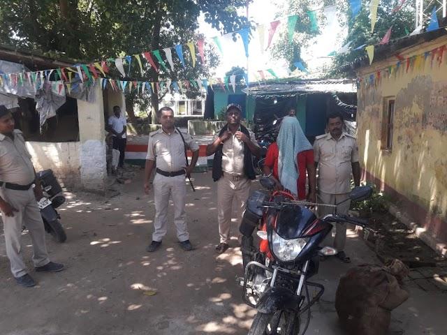 कपसिया चौक से घोरबंकी का युवक शराब के साथ गिरफ्तार