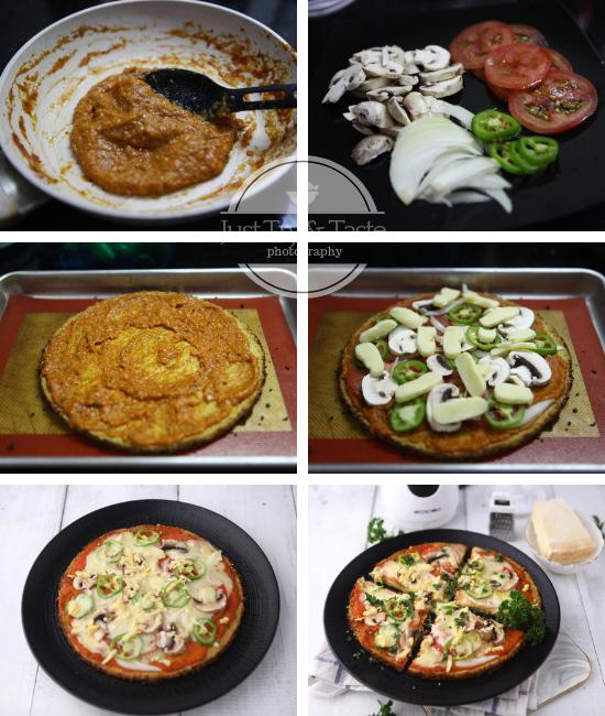 Resep Pizza Kembang Kol JTT