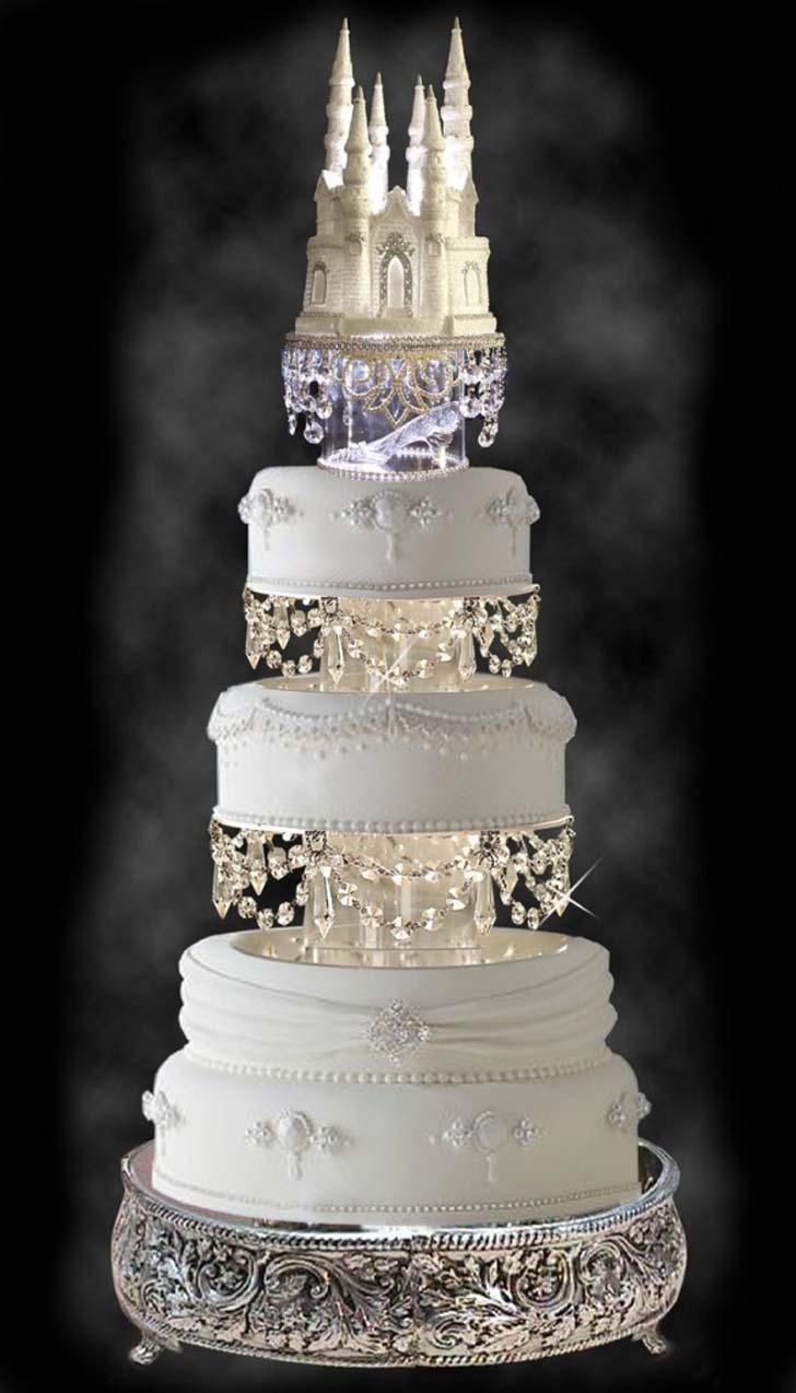 Wedding Dress Cupcake Cake 76 Vintage Cinderella Castle Wedding Cake