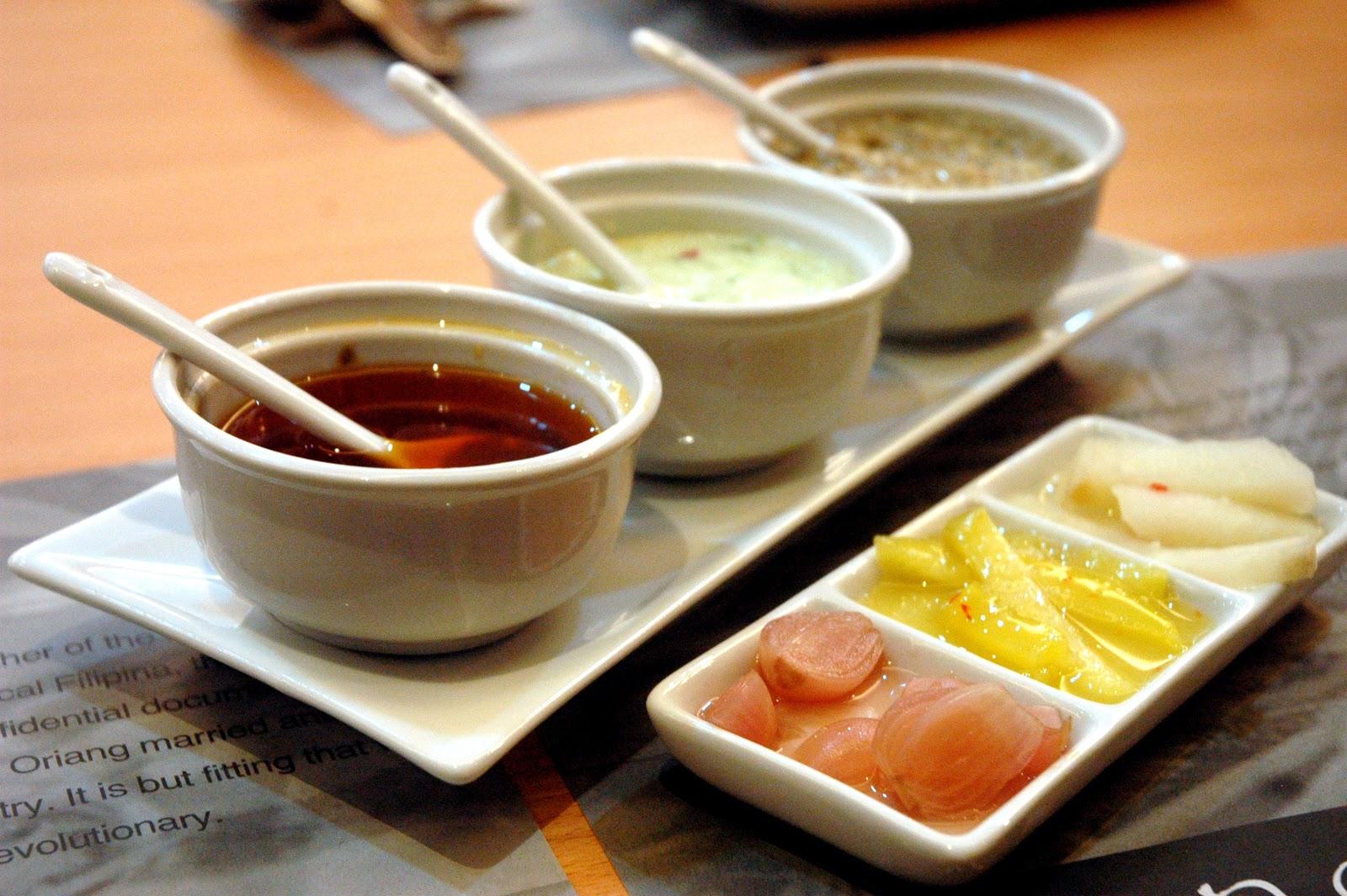 DUDE FOR FOOD: Food News: Oriang by Cafe de Bonifacio Opens