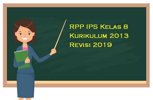 RPP IPS Kelas 8 Kurikulum 2013 Revisi 2019
