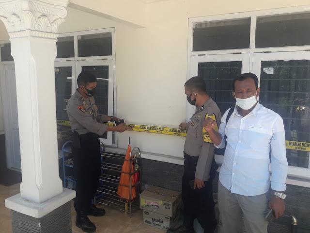Rumah Mewah Bos Arisan Daging Kurban Akhirnya Disegel Polisi