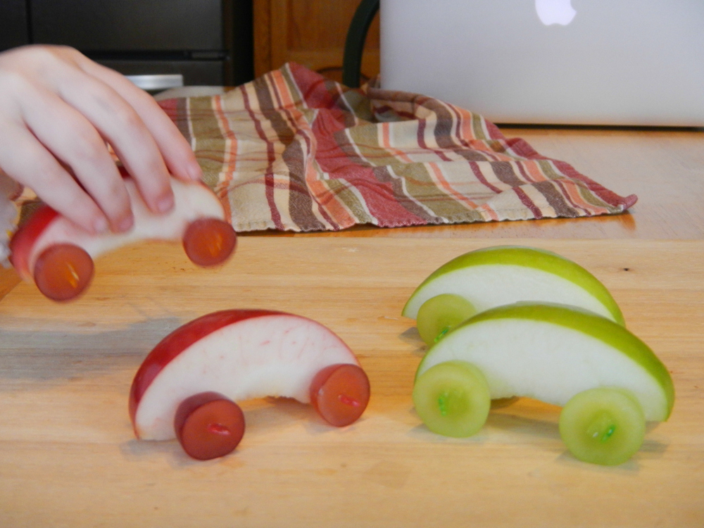 Crafts With Real Apples For Kids