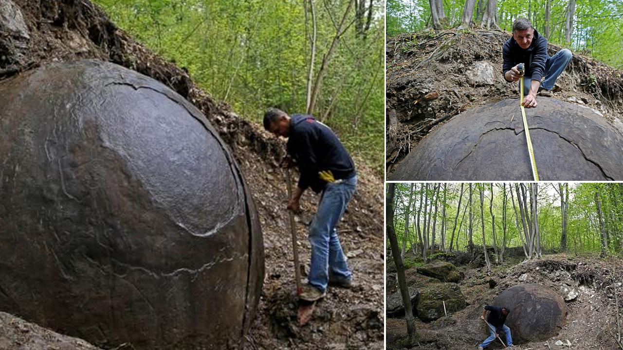 Enigmática roca esférica de tres metros se convierte en destino turístico en Bosnia