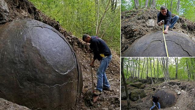 Enigmática roca esférica de tres metros se convierte en un reclamo para turistas en Bosnia