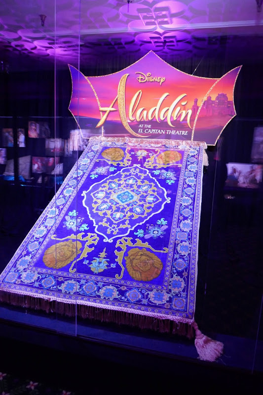 Aladdin Magic carpet prop