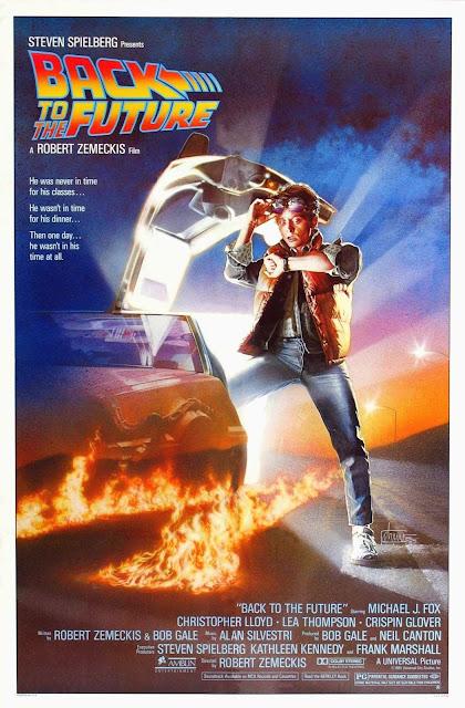 Póster original película Regreso al futuro
