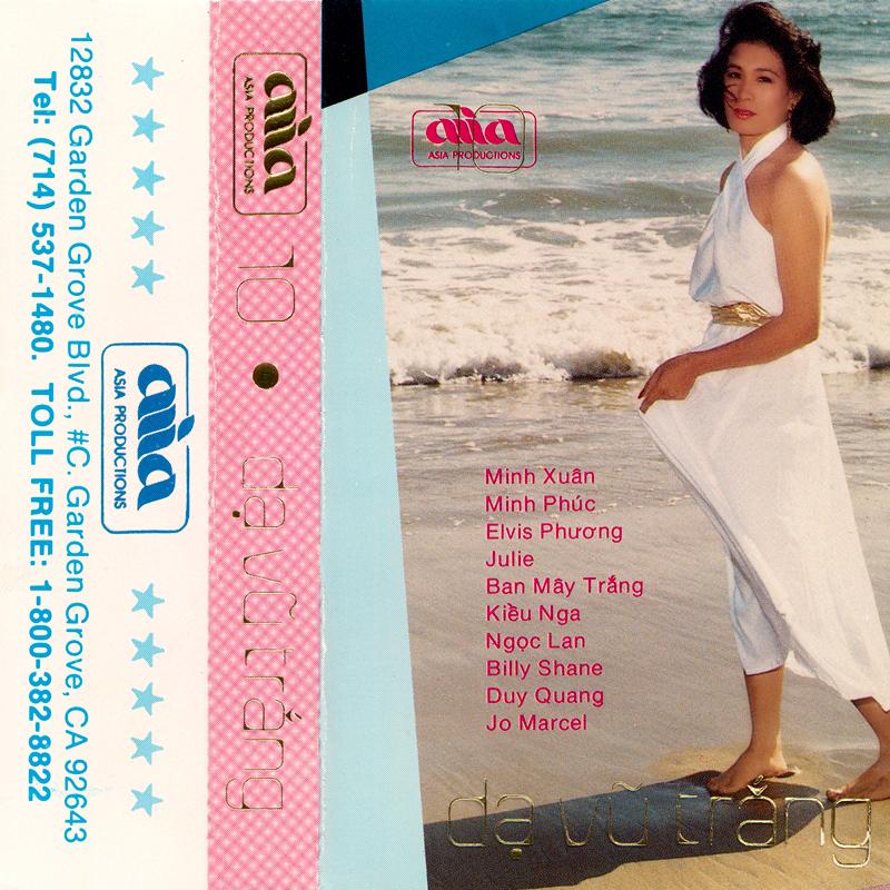 Tape Asia 10 - Dạ Vũ Trắng (WAV)
