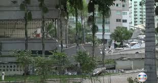 Desabamento em prédio /  em  Vitória, ES... condomínio Gran Parc