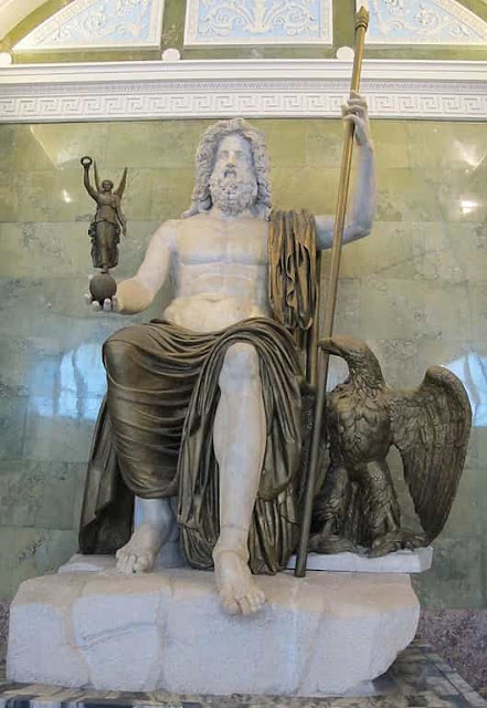 Jupiter - king of the roman gods