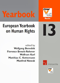 European Yearbook on Human Rights 2013 (co-ed.)