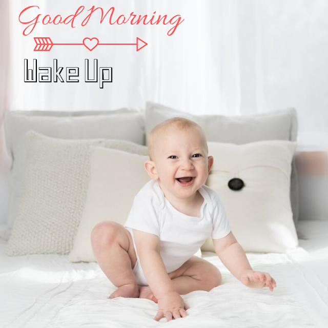 Happy Baby good Morning images