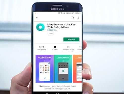 متصفح Mint أصبح متوفر للتحميل على متجر Google Play