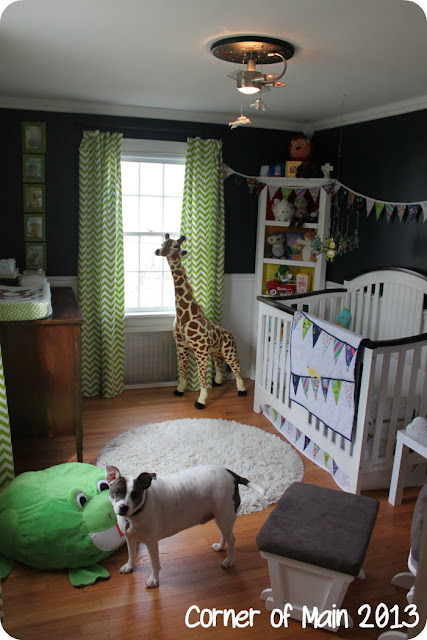Navy Blue Boy's Nursery