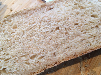 Fluffy white bread