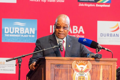 Zuma To Africans : Let's Work Together To Open Our Beautiful Continent