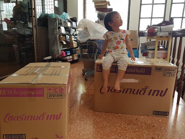 Merintis JASA TITIP Bangkok-Indonesia, Guide Riana