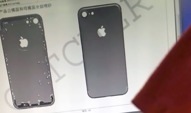 According to Nowhereelse, photos of new 4.7 inch iPhone 7 chasis have been leaked from the factory Catcher Technology